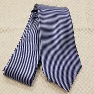 Nordstrom Mens Blue Silk Tie